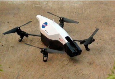 A NASA quer que os drones tomem suas próprias decisões sobre quando sair do chão, voar e pousar. [Imagem: NASA]