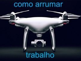 Participe da palestra online sobre como conseguir trabalho com Drones. Inscreva-se