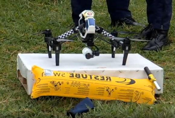 Drones apoiam o resgate de ao menos 65 pessoas no último ano