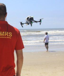 Seminário em Santa Catarina tem demonstração de Drones para salvamentos