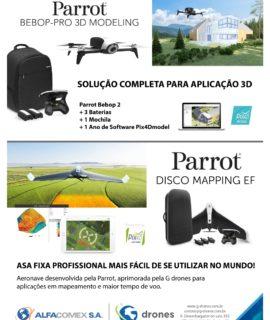 G-drones e Alfacomex participam no Fórum DroneShow, esta semana em São Paulo