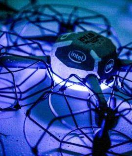 Intel lança drone especializado em show de iluminação. Confira!