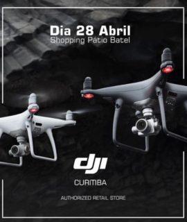 DJI abre sua primeira loja autorizada em Curitiba, a segunda no país
