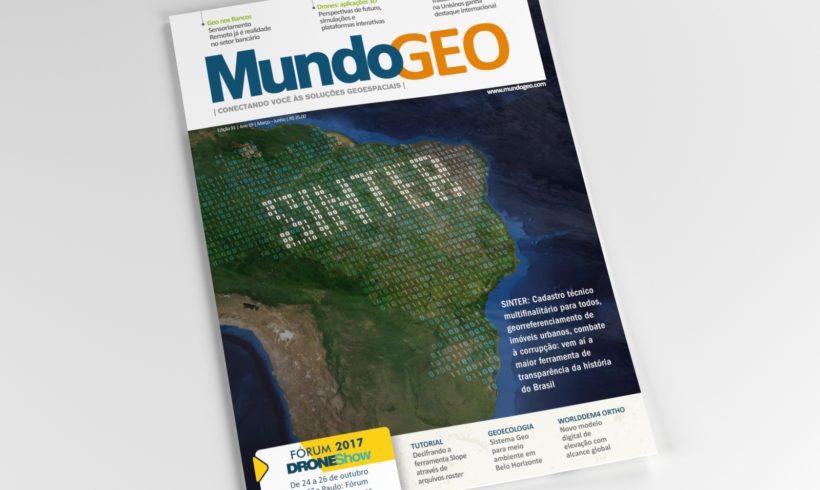 Confira a edição 91 da revista MundoGEO, que traz na capa o Sinter