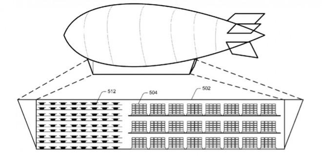 Amazon quer construir um armazém voador para entregas através de drones