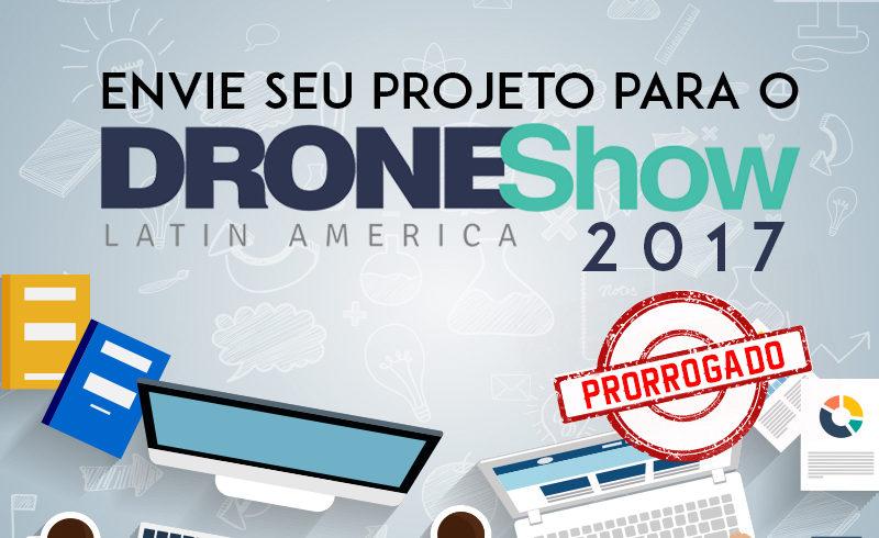 Últimos dias para envio de trabalhos aos Seminários do DroneShow 2017