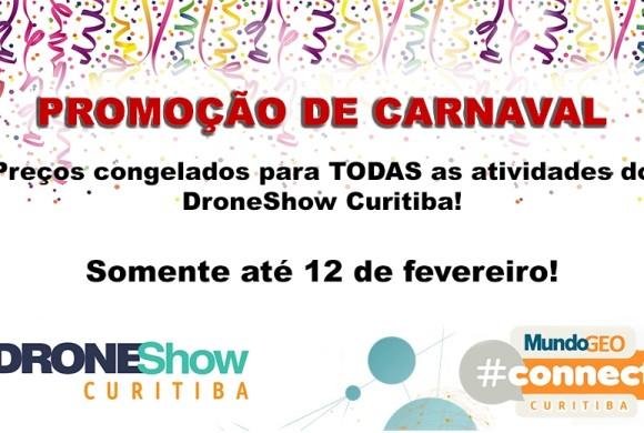 DroneShow Curitiba lança promoção exclusiva de Carnaval