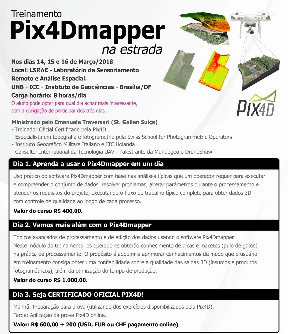 curso de pix4d programacao