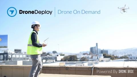 DroneDeploy anuncia plataforma com dados de drones sob demanda