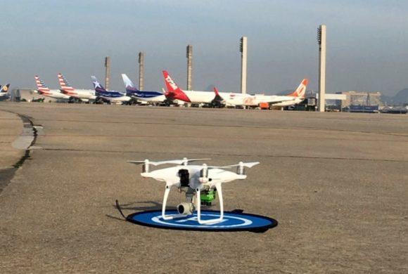 Operação com Drones viabiliza vistoria em aeródromo no Rio