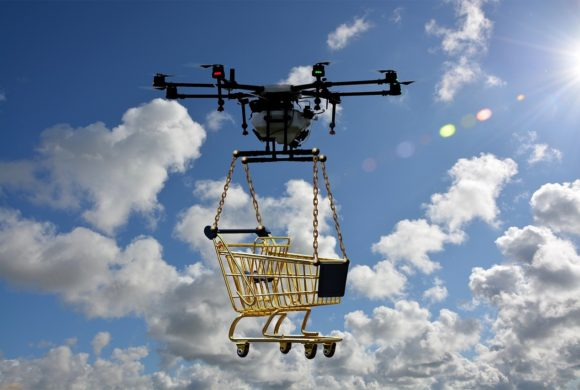 Amazon registra sistema antifurto para entregas com drones