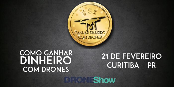 facebook Seminário e Curso em Curitiba dão dicas de como ganhar dinheiro com Drones