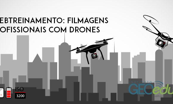 Inscreva-se para o webtreinamento sobre filmagens profissionais com drones