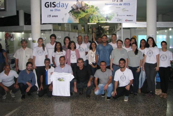 GIS Day aconteceu em Vitória e contou com programa de mapeamento com Drones