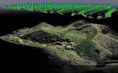 nuvem de pontos 400x249 Em junho: mini curso online Mapeamento com Drones. Últimas vagas