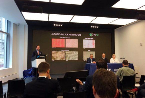 SkyDrones apresenta tecnologia na bolsa de valores Nasdaq