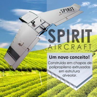 spirit aircraft 400x400 Replay: lançamento oficial do novo drone Spirit Aircraft da Tecnodrone