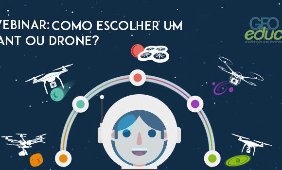 Participe da palestra online sobre como escolher um VANT ou Drone. Faça sua inscrição!